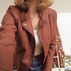 Anthropologie Leather Jacket
